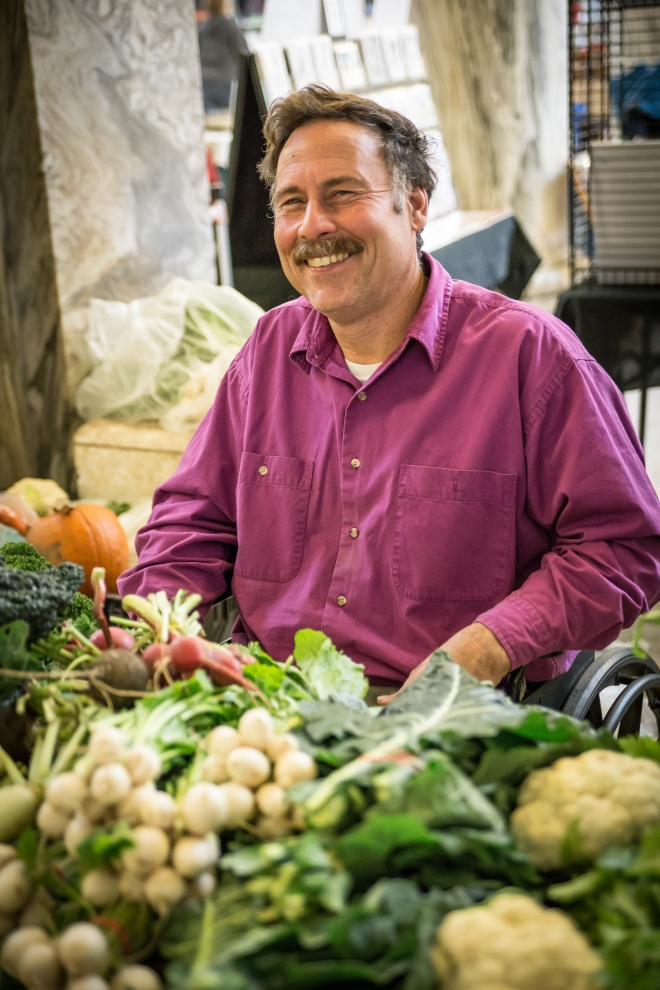 """People want to know where their food is coming from.  They can feel good about the fact that they are buying from their neighbor, someone they know and trust and see in their community, not someone halfway around the world."""