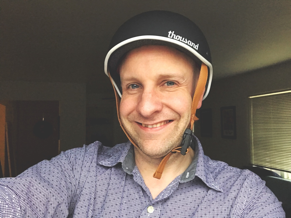 I Finally Bought A Bike Helmet.  Here's Why
